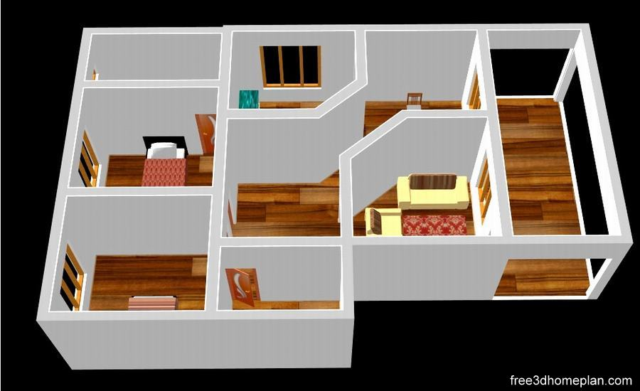 20x25sqft Plans Free Download Small Home Design Download Free 3d Home Plan