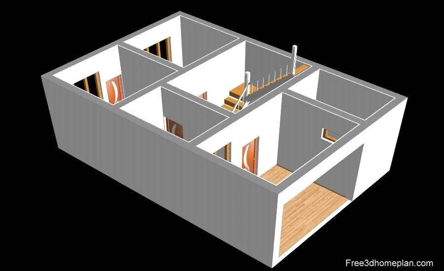 20x30 Sqft Plans Free Download Small Home Design Download Free 3d Home Plan